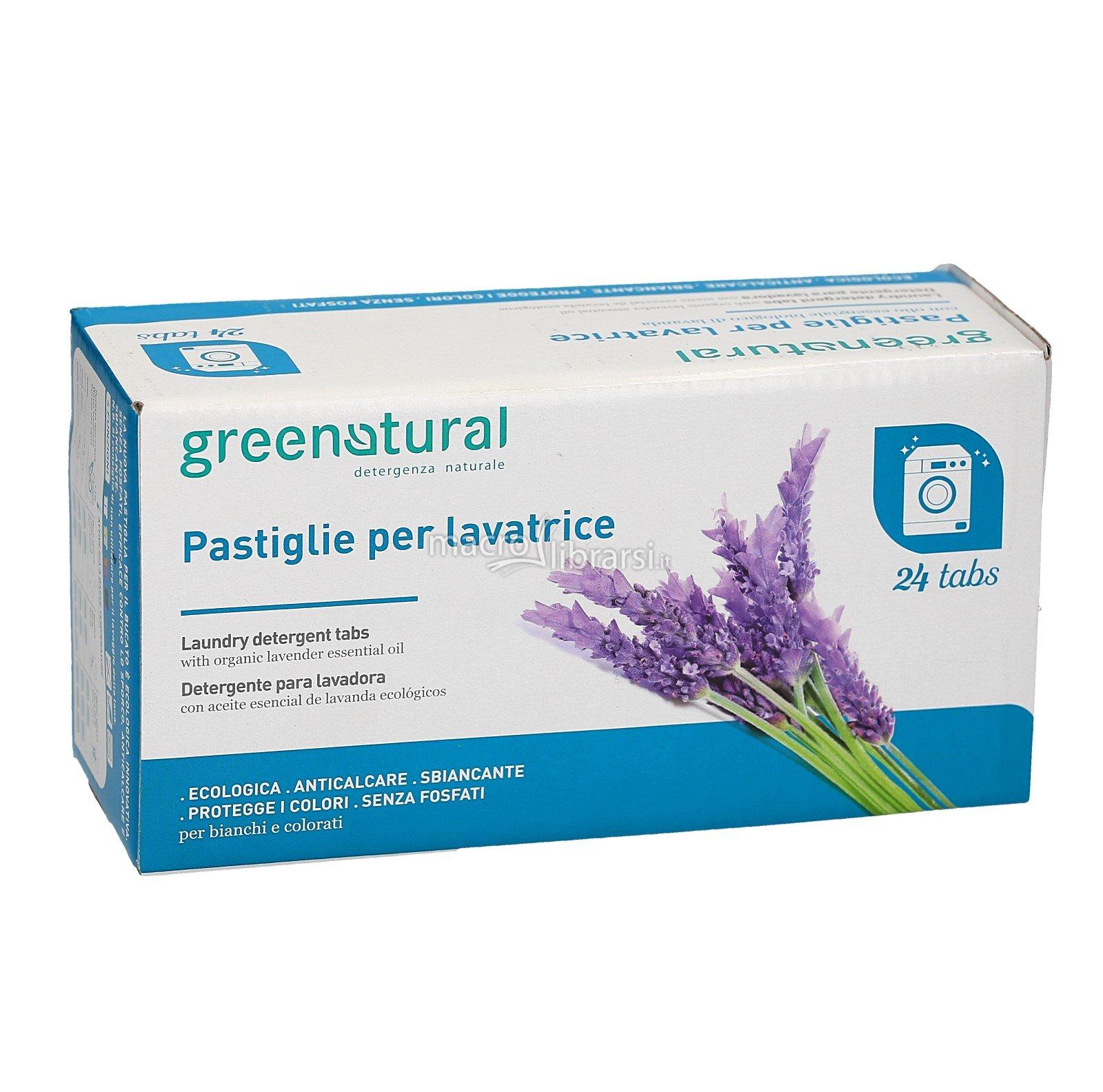 greentab pastiglie bucato a mano e lavatrice