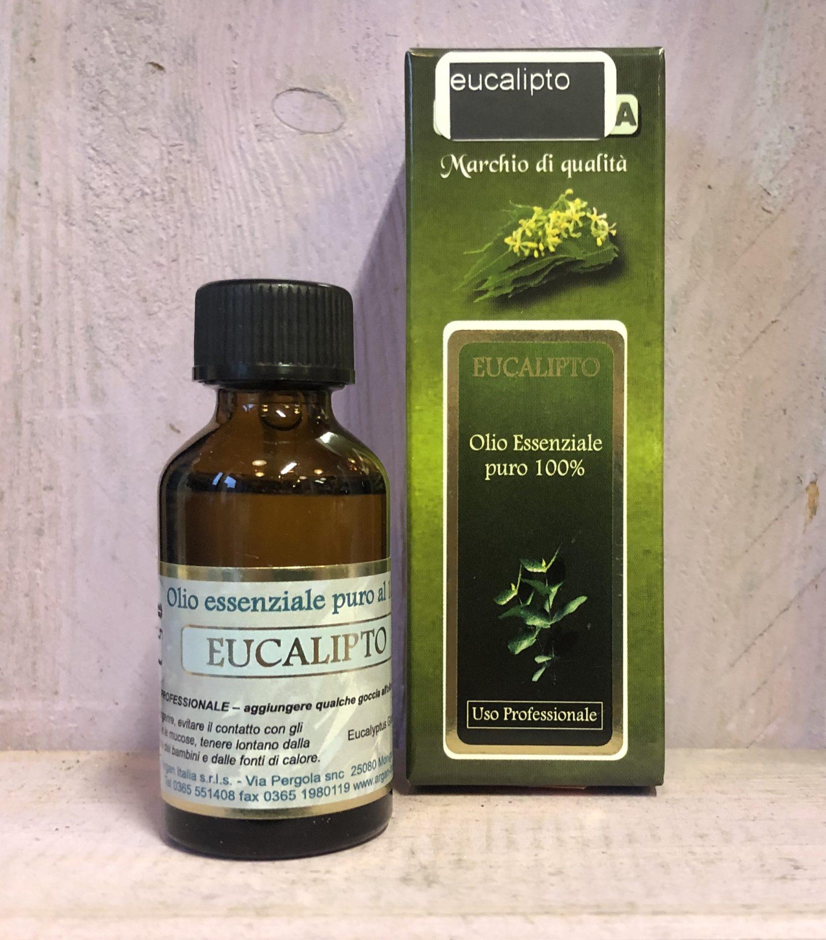 Olio essenziale Eucalypto
