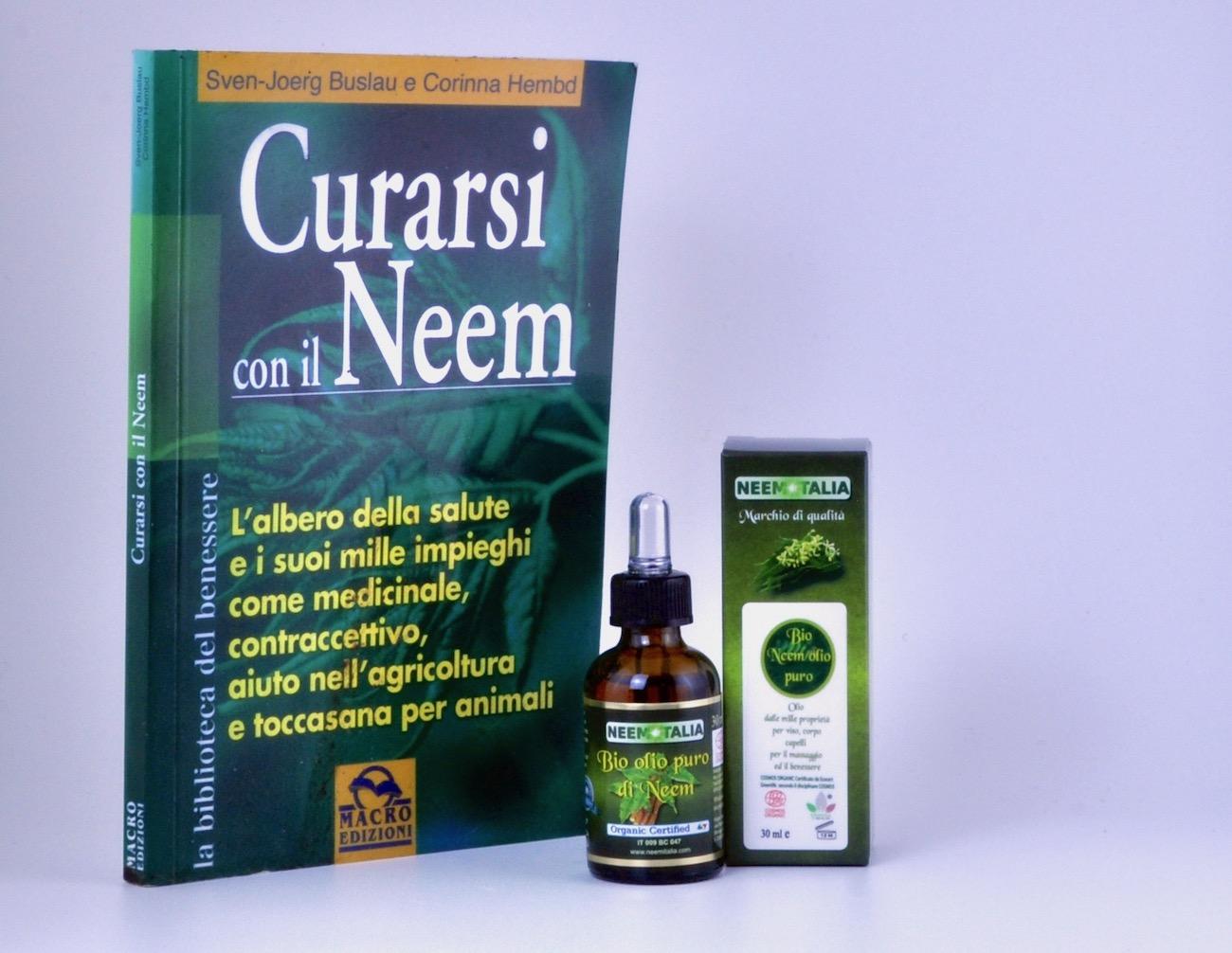 Olio essenziale di Neem puro